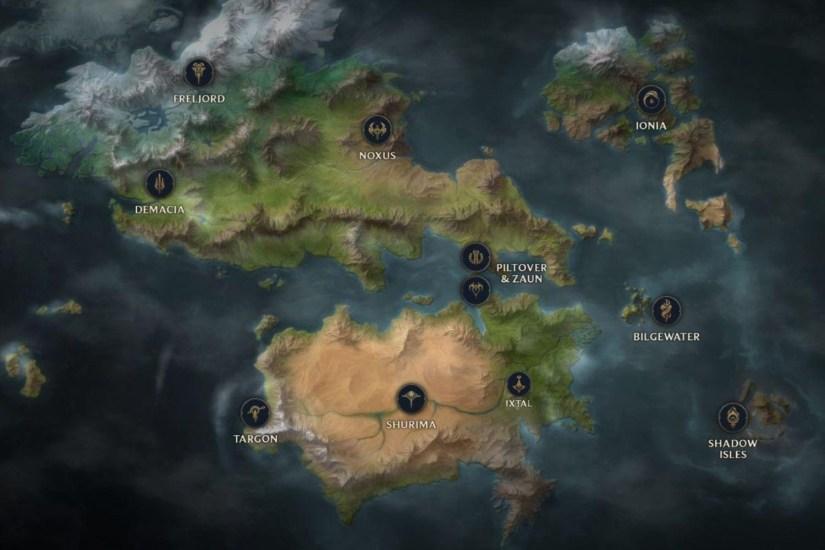 Mappa Runeterra