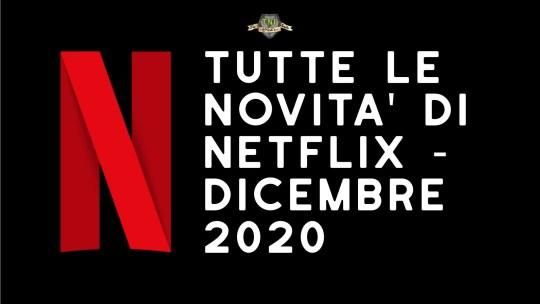 Programmazione Netflix di Dicembre 2020