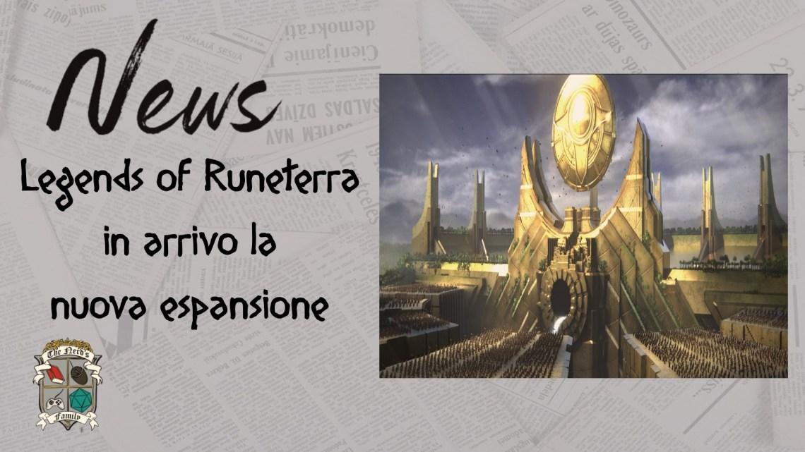 Legends of Runeterra, la nuova espansione per il gioco di carte: Impero degli Ascesi