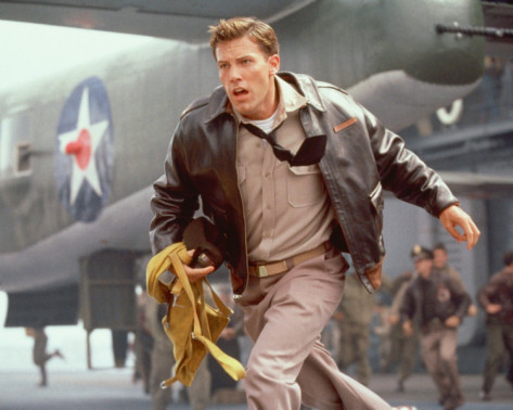 "Ben Affleck in ""Pearl Harbor""."