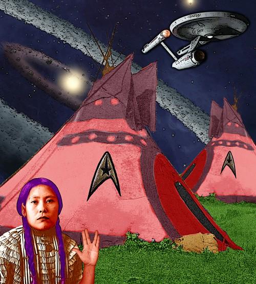 Live Long and Prosper (Spock was a Half-Breed), by Debra Yepa-Pappan