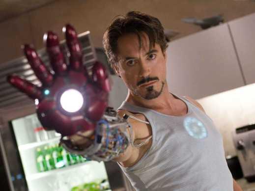 I enjoy Robert Downey, Jr. as Iron Man quite a bit.