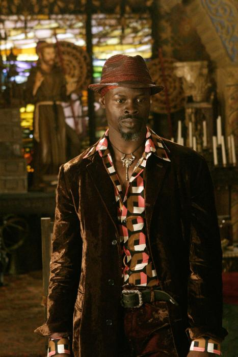 Papa, played by Djimon Hounsou in the film that shall not be named, is a fascinating character. I was surprised at how well he was handled in…that film...
