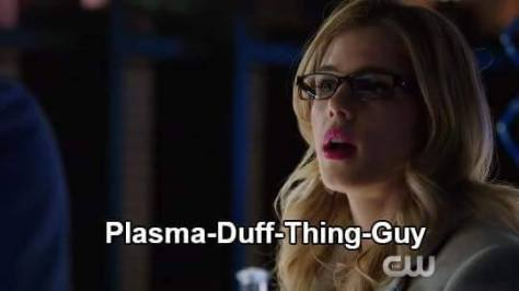 None of you are a DUFF Felicity, and Robbie Amell isn't here.