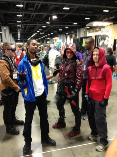 Static Shock and Arsenals