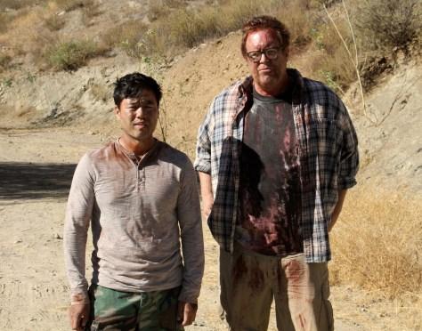 Amigo Undead - The morning after (actor(s): Randall Park, Steve Agee)