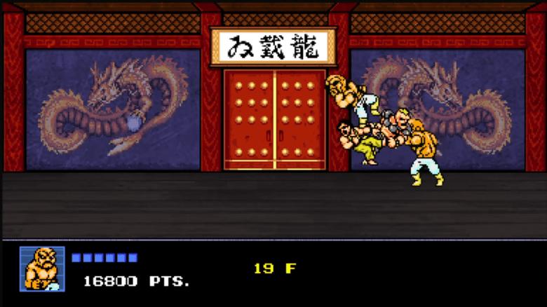 Rocking Abobo in Tower Mode.