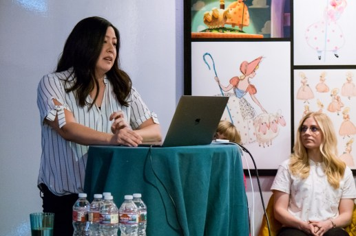 Directing Animator Patty Kihm during the Toy Story 4 Long Lead Press Day as seen on April 3, 2019 at Pixar Animation Studios in Emeryville, Calif. Photo by Marc Flores. ©2019 Disney/Pixar. All Rights Reserved.
