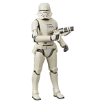 STAR WARS: THE BLACK SERIES CARBONIZED COLLECTION (HASBRO/Ages 4 years & up/Approx. Retail Price: Starting at $24.99/Available: Fall 2019) Fans and collectors can imagine scenes from the STAR WARS Galaxy with premium STAR WARS: THE BLACK SERIES CARBONIZED COLLECTION figures, inspired by a variety of STAR WARS entertainment including the THE MANDALORIAN live-action TV series on Disney Plus, the STAR WARS JEDI: FALLEN ORDER video game, and STAR WARS: THE RISE OF SKYWALKER. The STAR WARS: THE BLACK SERIES CARBONIZED COLLECTION is treated with a sleek metallic finish for a premium figure that really stands out in any STAR WARS fan's collection and features premium detail and multiple points of articulation. Characters in this collection include THE MANDALORIAN (exclusively at Target), SECOND SISTER INQUISITOR (exclusively at GameStop), SITH TROOPER (exclusively at Amazon), and FIRST ORDER JET TROOPER (exclusively at Walmart).