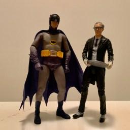 Alfred with NECA 1966 Batman