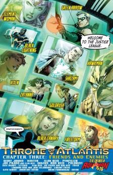 Justice League ASSEMBLE! (No wait...that's not right)