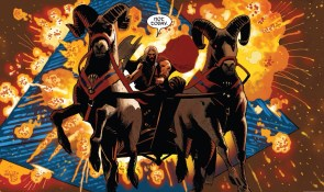 Thor why is your chariot driven by giant goats?