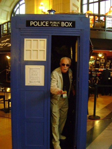 Stan Lee as the Doctor