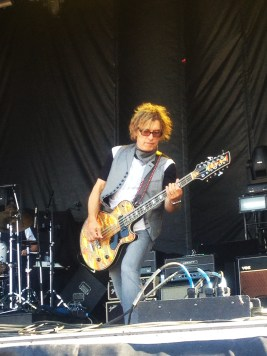 Tom Petersson of Cheap Trick. Taken during the 2013 Stampede Round Up