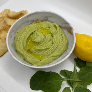 Lemon & Spinach Hummus