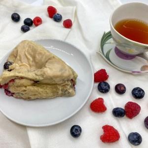 KimBees Tea & Berry Scones