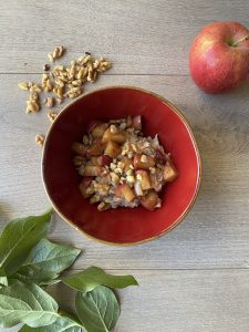 Apple Spice Oatmeal