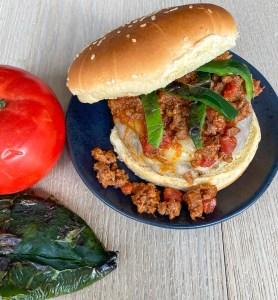 Comanche Chili Cheeseburger