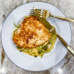 Gluten Free Chicken Piccata with Zoodles