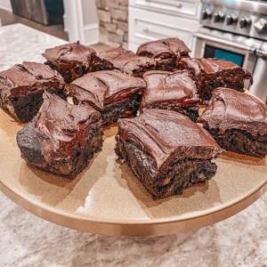 Guilty Double Fudge Brownies