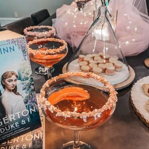 bridgerton cocktail closeup