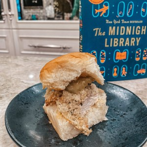 Chicken and Blue Cheese Sliders