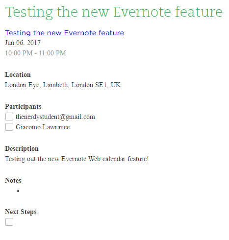 Evernote Adds a New Feature That Automates Taking Meeting Notes ...