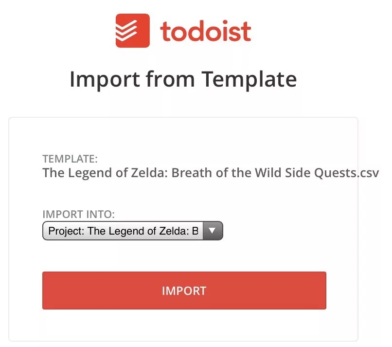 todoist project templates - how to use todoist templates the nerdy student