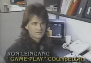 rob leingang nintendo, ron leingang nintendo, gameplay counselor, nintendo gpc