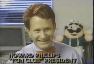 howard phillips nintendo, fun club president, howard phillips
