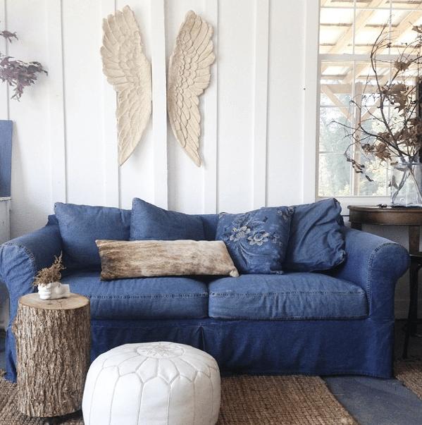 Angel wings vignette for The living room channel 10 instagram