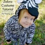 Tutorial Easy Diy Zebra Horse Or Unicorn Costume Jocelyn Naquin
