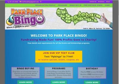 Salinas Park Place Bingo