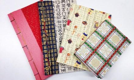 Korean Art Class #2: Bookbinding!