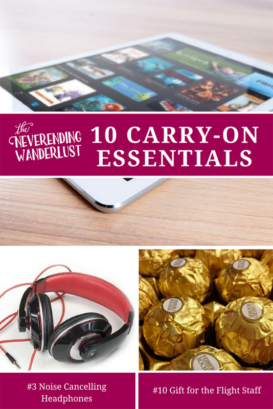 Top 10 Carry-On Essentials