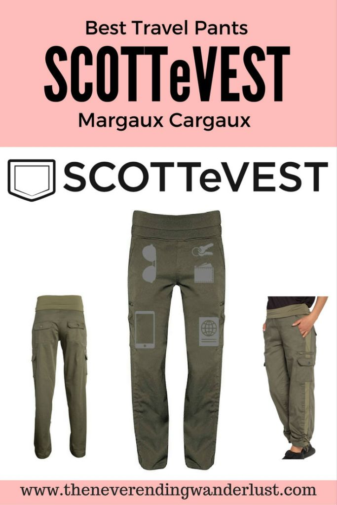 Best Travel Pants - SCOTTeVEST