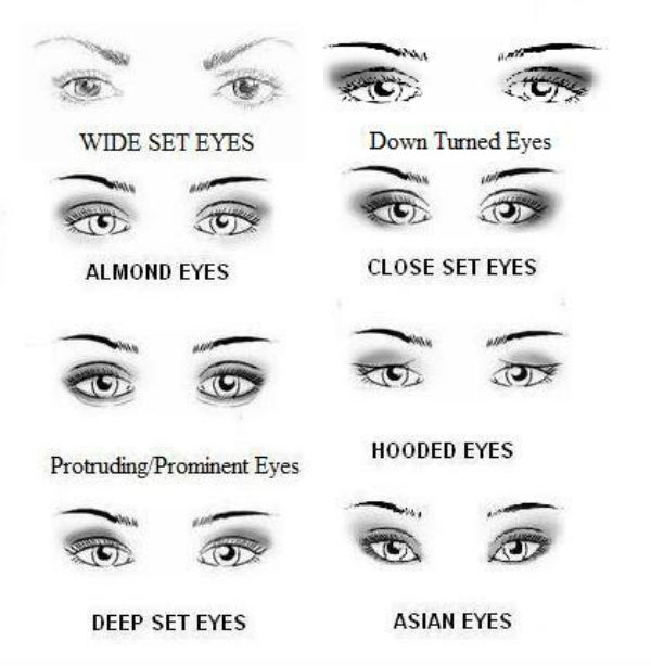 Eye Shape Chart Ibovnathandedecker