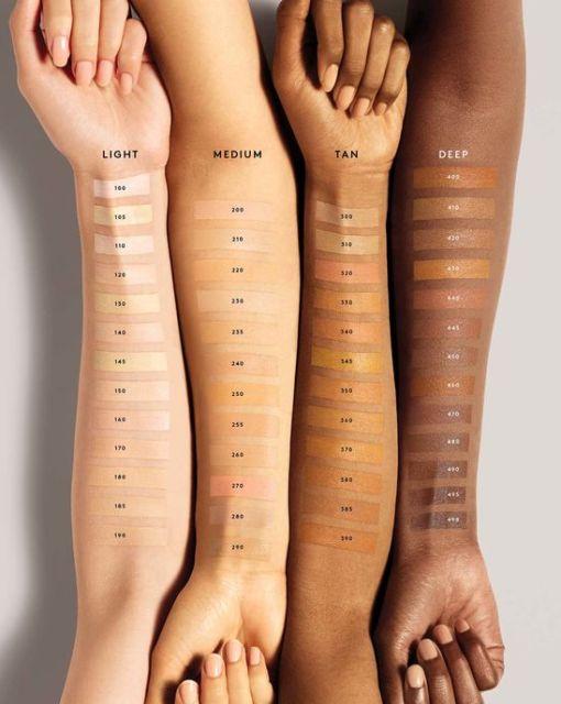 Fenty Beauty Concealer Skintone Chart