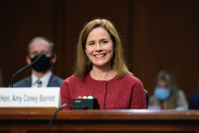 First Day of Barrett Confirmation Hearings: Dems on Offensive