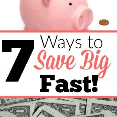 7 Habits To Save Money FAST