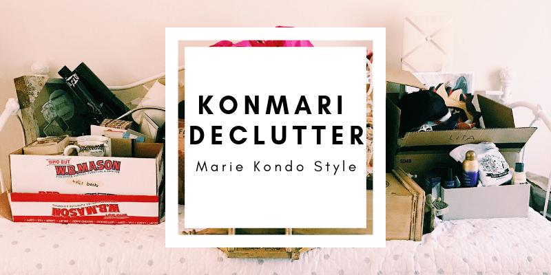 I Decluttered KonMari Style || Minimalism