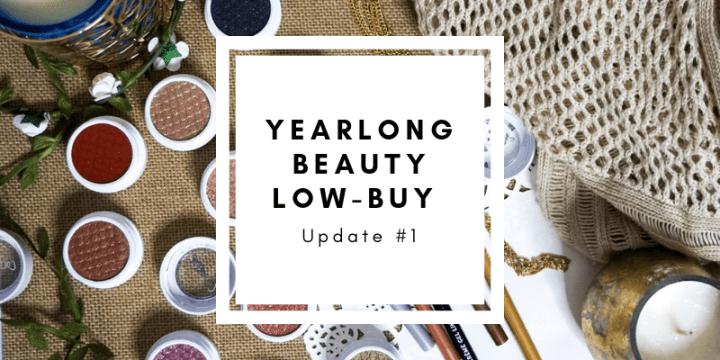 Yearlong Beauty Low-Buy Update #1