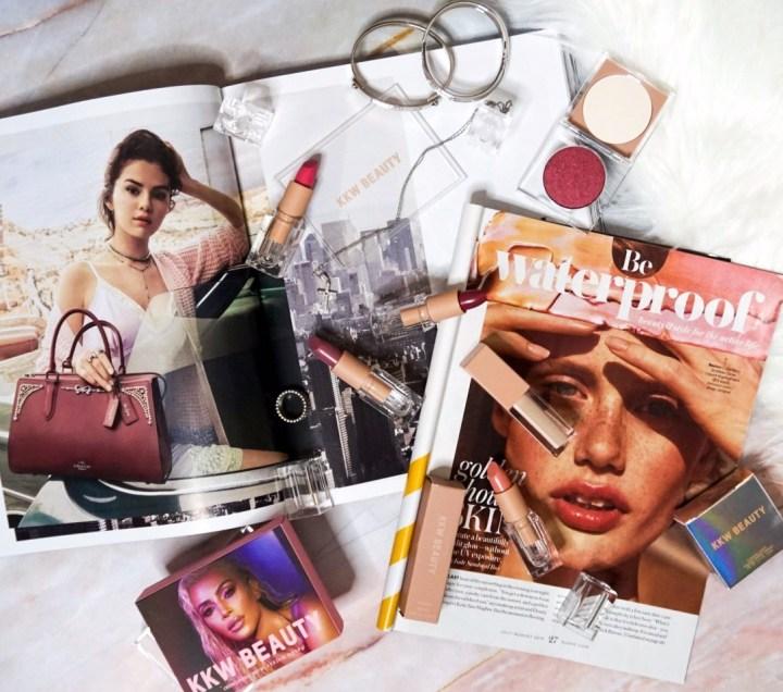 Celebrity Makeup Lines | KKW Beauty Best of Pink Lipsticks, Liquid Concealer + Pressed Pigment #3