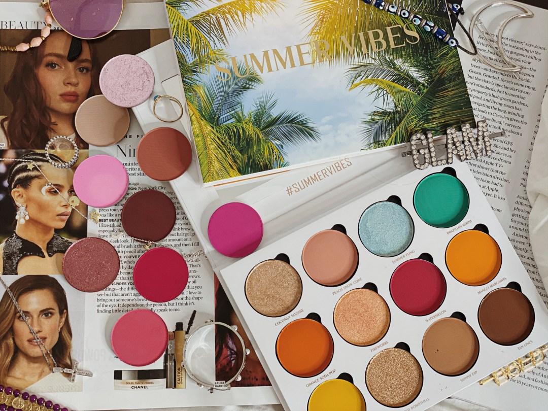 Massive Luxury Beauty Haul - Give Me Glow Cosmetics Eyeshadow Singles & Give Me Glow Cosmetics Summer Vibes Palette