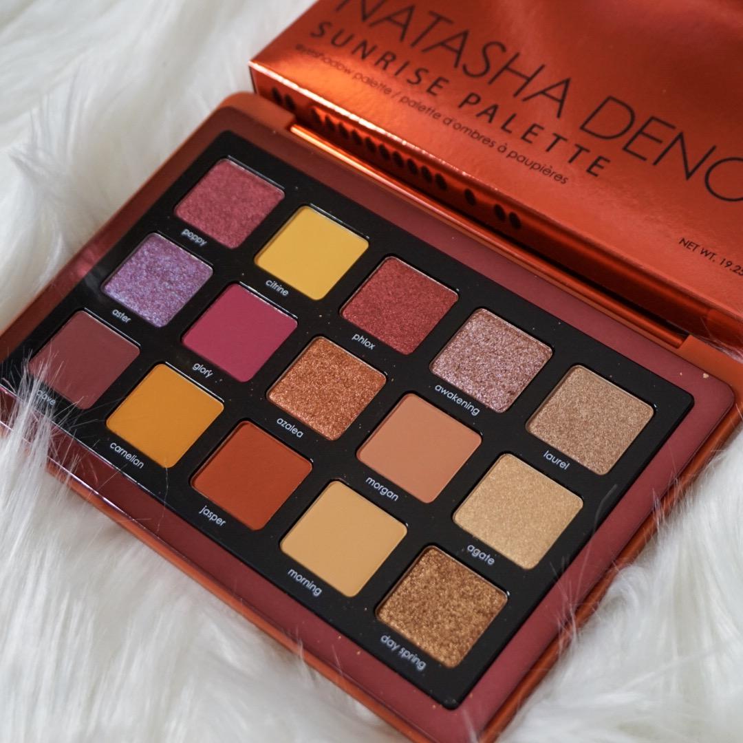 Natasha Denona Sunrise Eyeshadow Palette Review