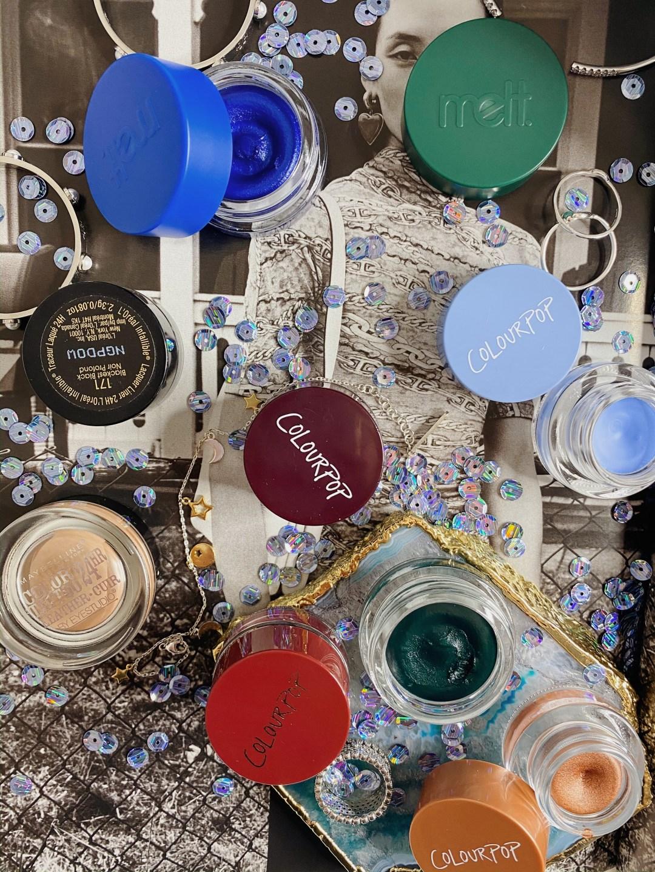 Eyeliner Collection Ranking | Gel Liner - ColourPop Creme Gel Color, Maybelline Color Tattoo, L'OREAL Gel Lacquer Liner, Melt Cosmetics Gel Liner Fortuna & Santos