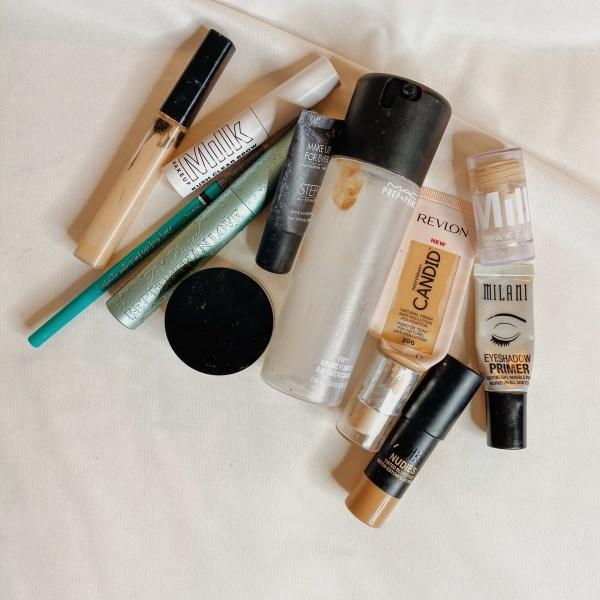 Winter 2020 Makeup and Skincare Empties Roundup #9 - Makeup Empties
