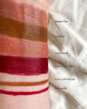 MAC Cosmetics x Selena La Reina Bullet Lipsticks & Lip Pencils