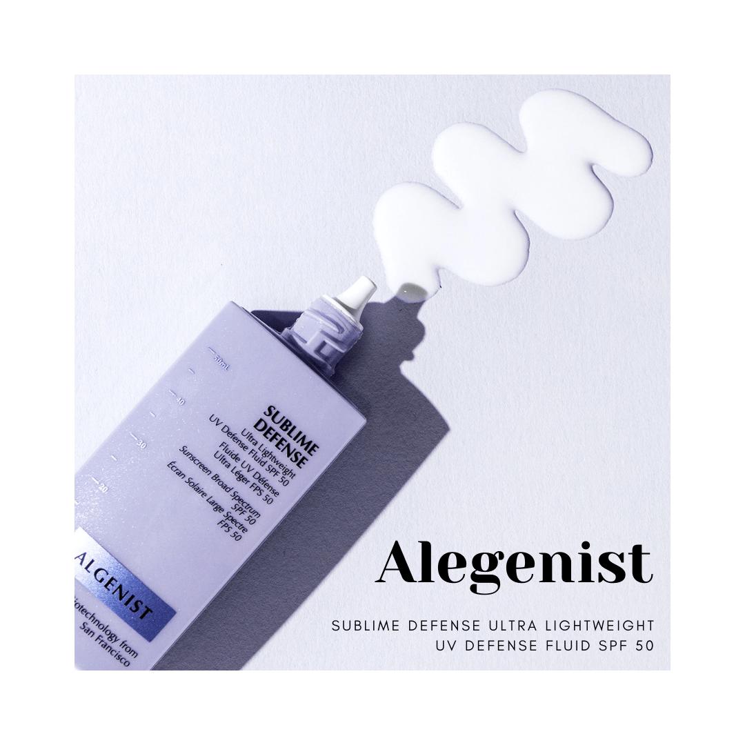 Algenist Sublime Defense Ultra-Lightweight UV Sense Fluid SPF 50