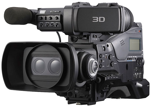 new 3d professional camcorder from sony new camera. Black Bedroom Furniture Sets. Home Design Ideas